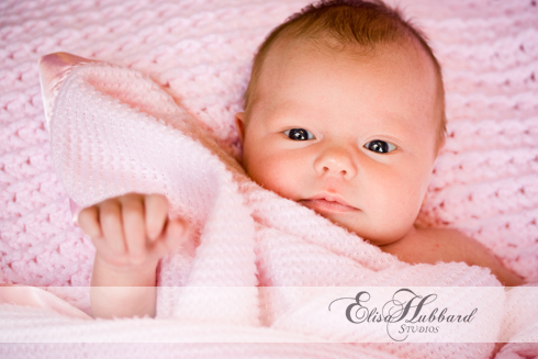Chloe, 18 Days Old, Baby Girl, Newborn Photography, Elisa Hubbard Studios