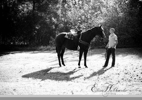 Timmy, Ross HS, Ross Senior, Ohio Senior, Whitewater, Park, Horse, Senior Photography, Elisa Hubbard Studios