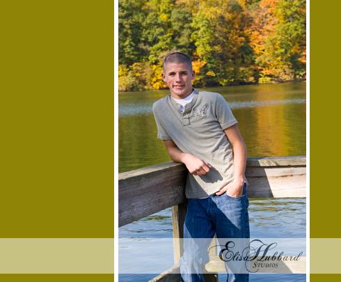 Timmy, Ross HS, Ross Senior, Ohio Senior, Whitewater, Park, Senior Photography, Elisa Hubbard Studios