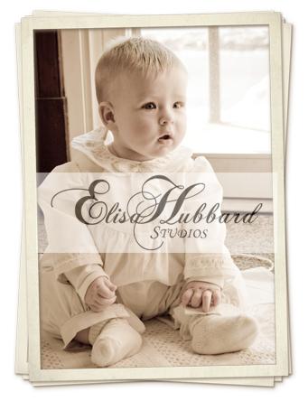 Leon's Baptism, Baby Photography, Elisa Hubbard Studios