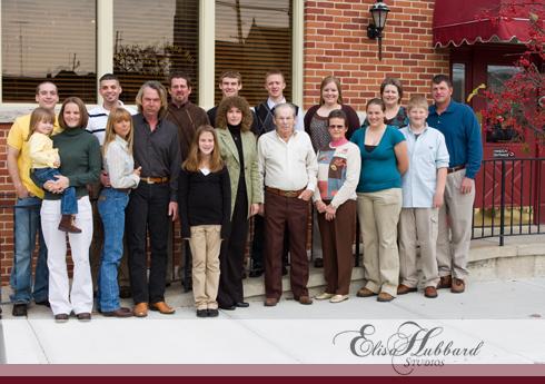 Davis Family, Anniversary Dinner, Richmond, Old Richmond Inn, Family Photography, Elisa Hubbard Studios
