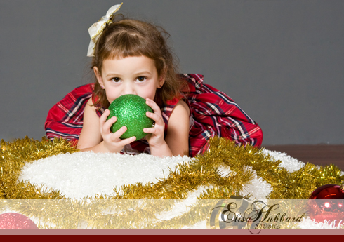 Renee, 3 Years, Christmas, Studio, Liberty, Child Photography, Christmas Photography, Elisa Hubbard Studios