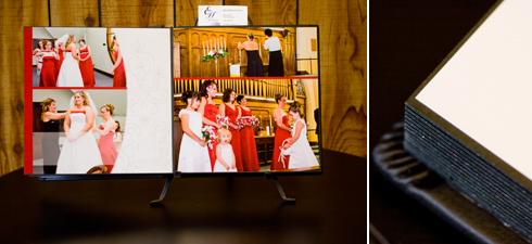 Wedding Album, Destiny Album, Leather Album, Wedding Photography, Elisa Hubbard Studios
