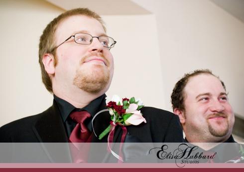 Billy & Hannah, February Wedding, Winter Wedding, Brownsville Wedding, Methodist Church, Groom, Wedding Photography, Elisa Hubbard Studios