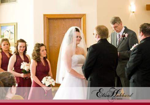 Billy & Hannah, February Wedding, Winter Wedding, Brownsville Wedding, Methodist Church, Alter, Wedding Photography, Elisa Hubbard Studios