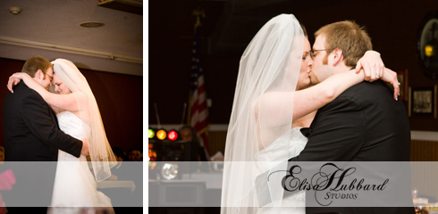 Billy & Hannah, February Wedding, Winter Wedding, Brownsville Wedding, Methodist Church, First Dance, Wedding Photography, Elisa Hubbard Studios