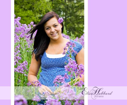 Rachel, 2011 Senior, Union County High School, UCHS, Liberty, Farm, Spring, Flowers, Senior Photography, Elisa Hubbard Studios