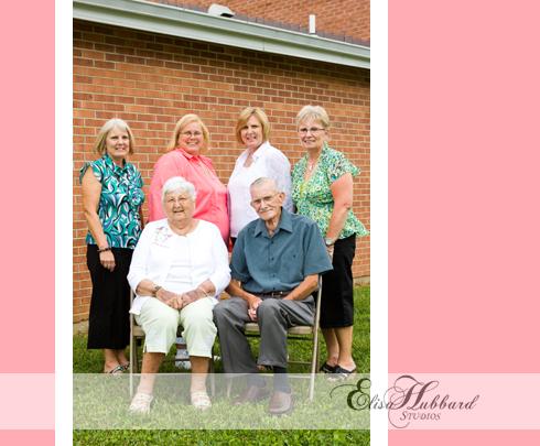 Ramey Family, 60th Anniversary, Liberty, Catholic Center, Family Photography, Elisa Hubbard Studios