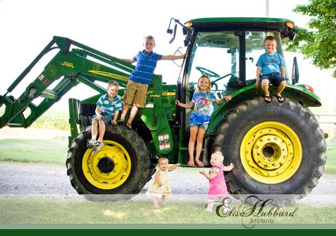 6 Kids, On Location, Nature, Child Photography, Children Photography, Family Photography, Elisa Hubbard Studios