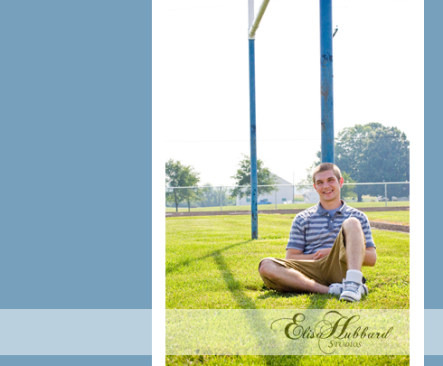 Dylan, UCHS Senior, Liberty, Indiana Senior, Union County, On Location, Union County School Grounds, Senior Photography, Elisa Hubbard Studios