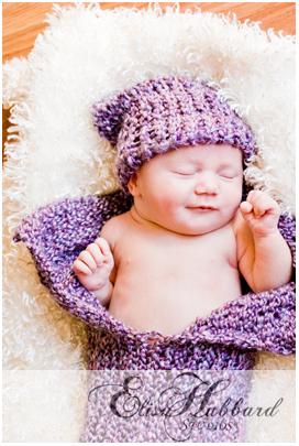 Alexis - Newborn Photography - Elisa Hubbard Studios