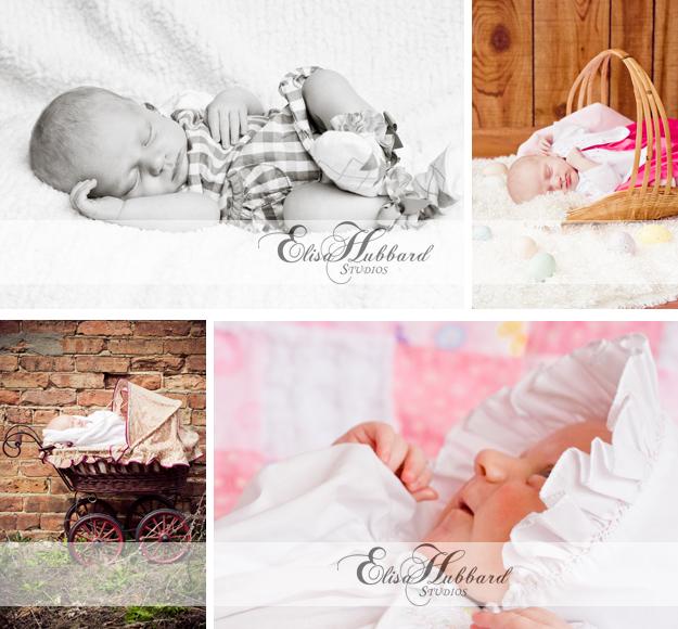 Arianna, Baby Girl, Baby Photography, Newborn Photography, Elisa Hubbard Studios
