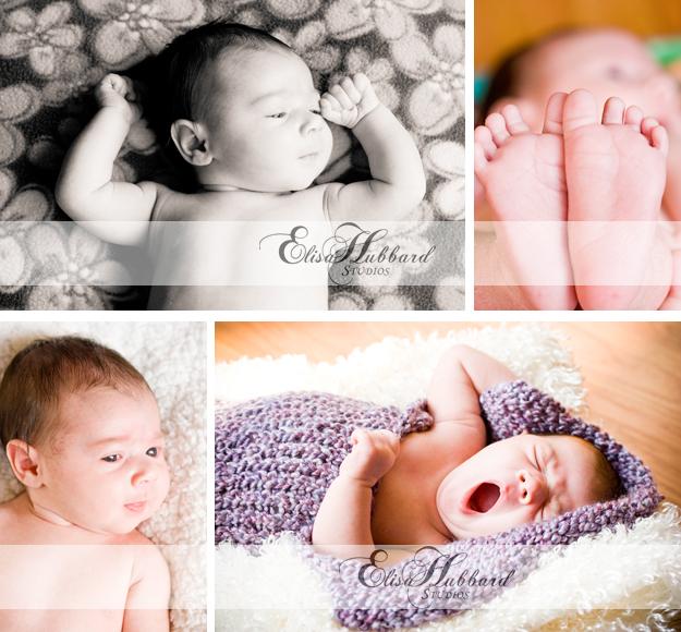 Alexis, Baby Girl, Baby Photography, Newborn Photography, Elisa Hubbard Studios