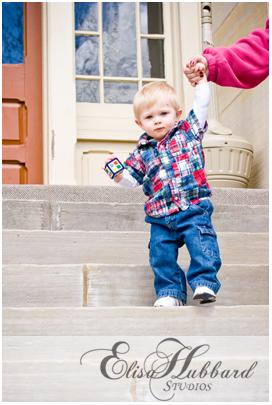 Cameron - 1 year - Child Photography - Elisa Hubbard Studios