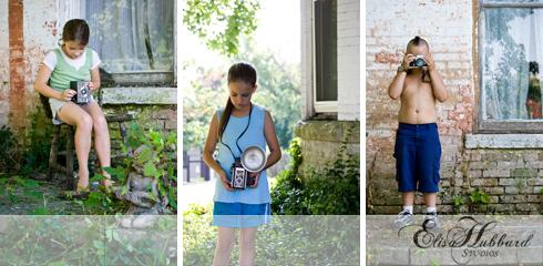 Children's Photography, Child Photography, Vintage Cameras, Decay, Elisa Hubbard Studios