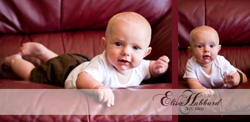 Jackson, 5 Months, Baby Photography, Elisa Hubbard Studios