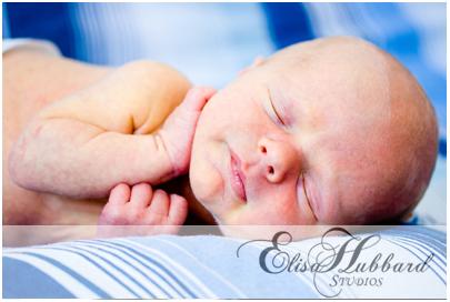 Jackson - Newborn Photography - Elisa Hubbard Studios